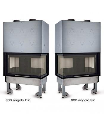 Monoblocco 800 Angolo SX a legna La Nordica - Extraflame