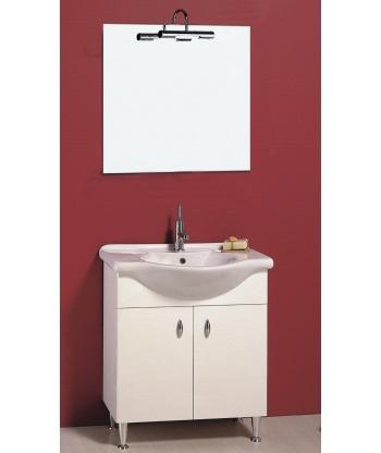 Mobile bagno 2 ante 75V Progetto Idea Stella