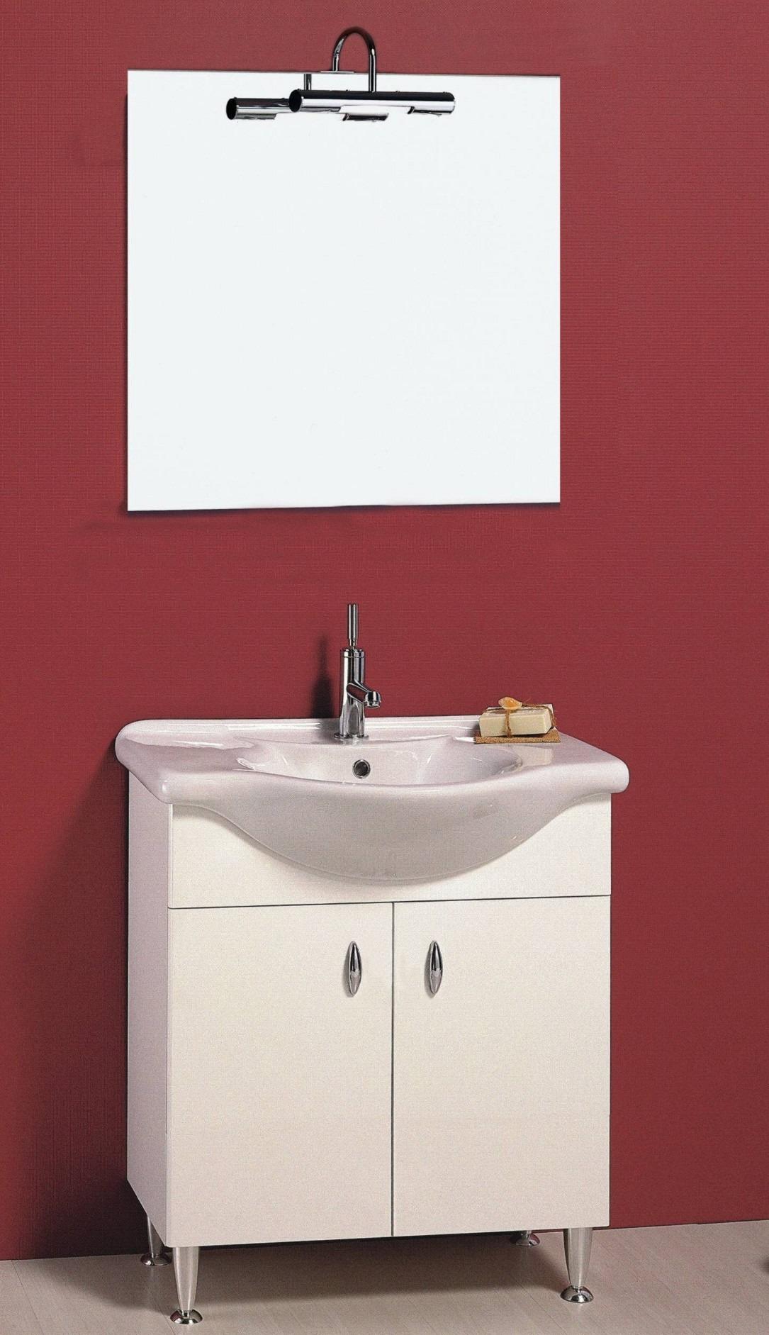 Mobile bagno 2 ante 85V Progetto Idea Stella - PiastrelMarmi Edil