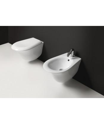 Vaso WC sospeso Libera VLS Nero Ceramica