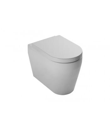 Vaso WC a terra Genesi VGSP Nero Ceramica