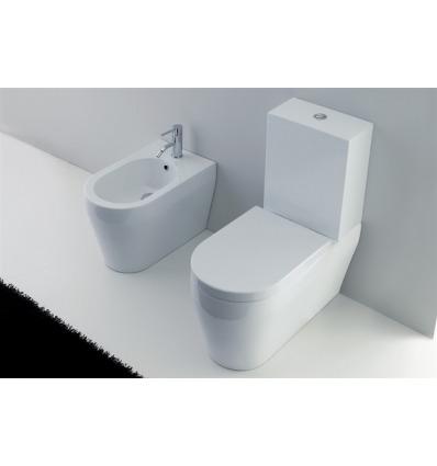 Vaso WC a terra Genesi VGM Nero Ceramica