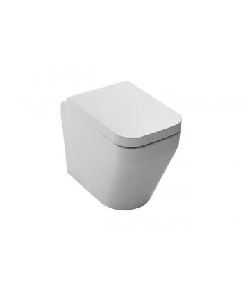 Vaso WC a terra Aliseo VASP Nero Ceramica