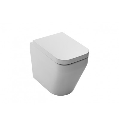 Sanitari Nero Ceramica Aliseo.Vaso Wc A Terra Aliseo Vasp Nero Ceramica