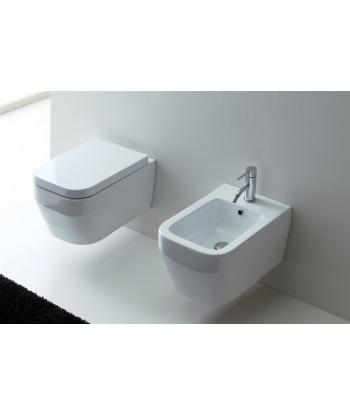 Vaso WC sospeso Aliseo VAS Nero Ceramica