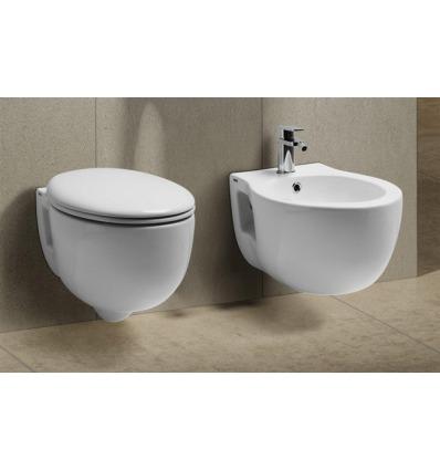 Vaso WC sospeso Skill VISN Nero Ceramica