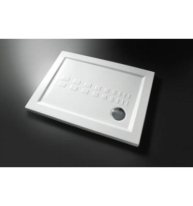 Piatto Doccia rettangolare 72x90 h5,5 Slim Nero Ceramica