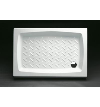 Piatto Doccia rettangolare 70x100 h11 Contract Nero Ceramica