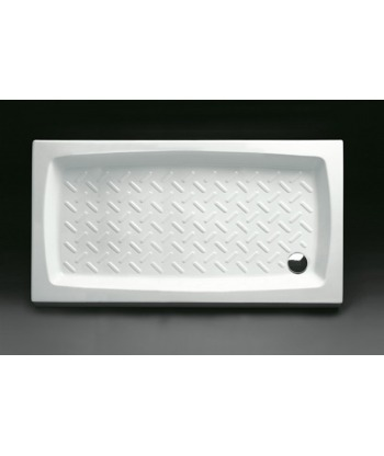 Piatto Doccia rettangolare 70x120 h11 Contract Nero Ceramica