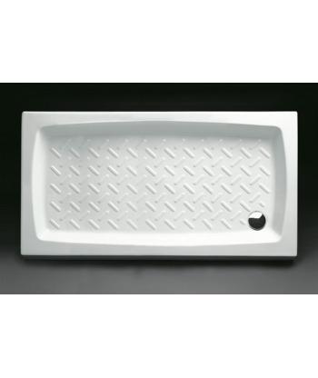 Piatto Doccia rettangolare 70x140 h11 Contract Nero Ceramica