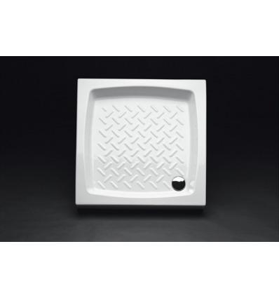 Piatto Doccia rettangolare 72x72 h11 Contract Nero Ceramica