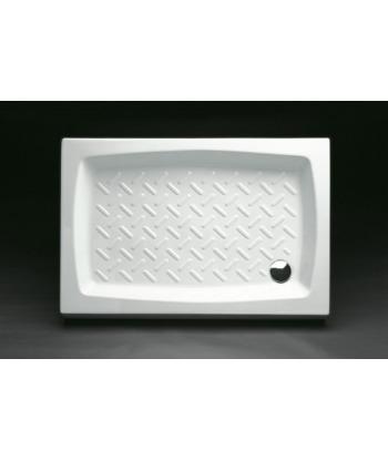 Piatto Doccia rettangolare 72x90 h11 Contract Nero Ceramica