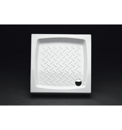 Piatto Doccia rettangolare 80x80 h11 Contract Nero Ceramica