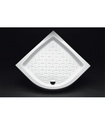 Piatto Doccia angolare 80x80 h11 Contract Nero Ceramica