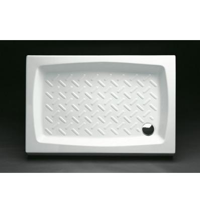 Piatto Doccia rettangolare 80x100 h11 Contract Nero Ceramica