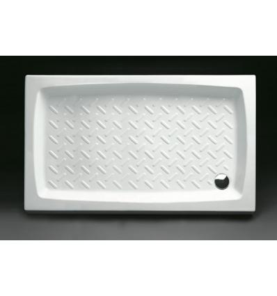 Piatto Doccia rettangolare 80x120 h11 Contract Nero Ceramica