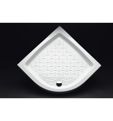 Piatto Doccia angolare 90x90 h11 Contract Nero Ceramica