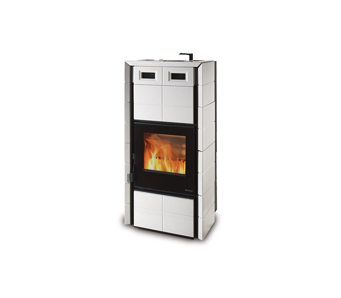 Stufa legna e pellet vulcania stufe a pellet termostufe - Termostufe combinate pellet e legna prezzi ...