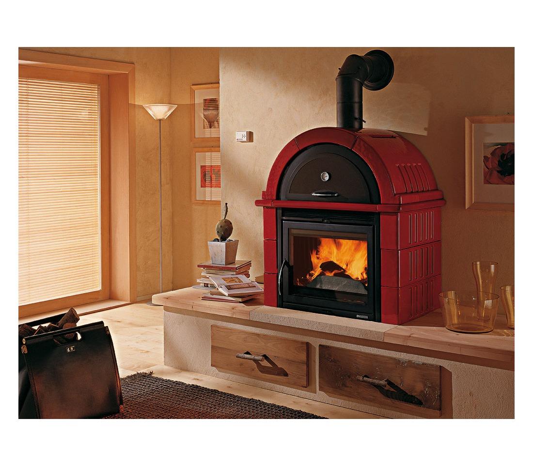 stufa a legna fal 2s la nordica extraflame piastrelmarmi edil. Black Bedroom Furniture Sets. Home Design Ideas