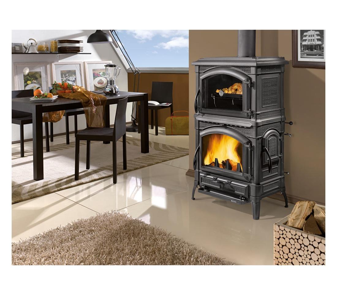 Stufa a legna isotta con forno la nordica extraflame - Termocucine a pellet prezzi ...