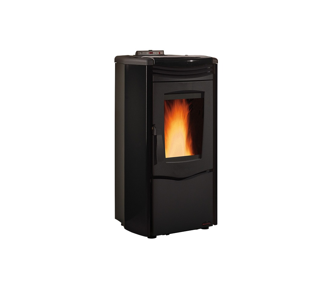 Stufa pellet melinda steel air la nordica extraflame for Ardeco pellet