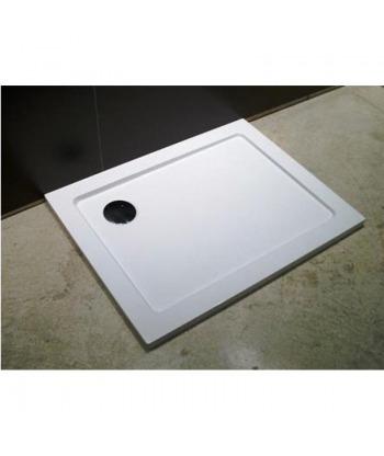 Piatto doccia quadrato 80x80 h3,5 Ercos BP R01