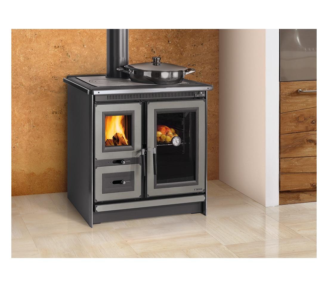 Cucina a legna italy la nordica extraflame piastrelmarmi edil - Nordica cucina a legna ...