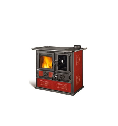 Cucina a legna Rosa Reverse La Nordica - Extraflame