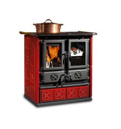 Cucina a legna Rosetta Maiolica La Nordica - Extraflame