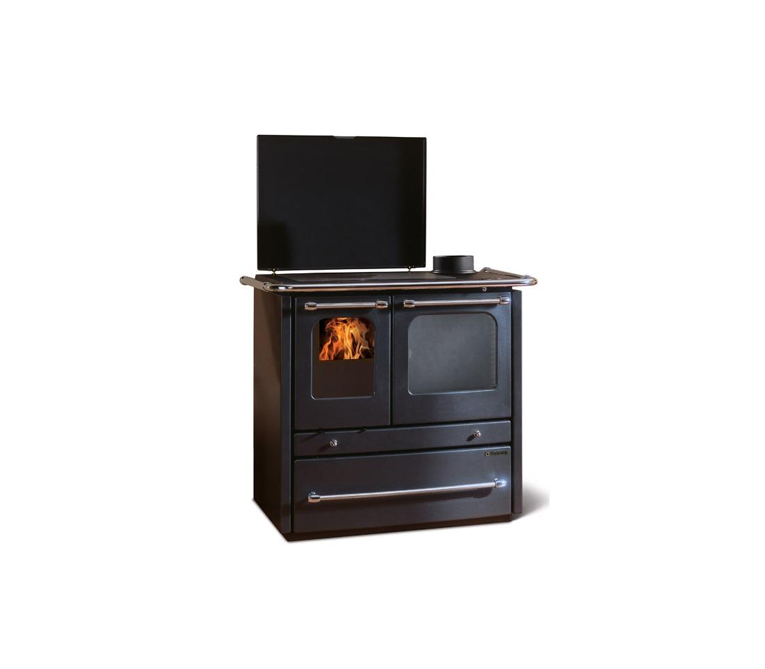 Cucina a legna sovrana la nordica extraflame piastrelmarmi edil - Nordica cucina a legna ...