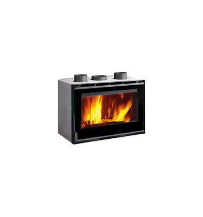 Caminetto Inserto 80 Crystal Ventilato EVO a legna La Nordica - Extraflame